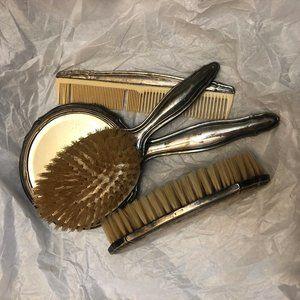 Antique/Vintage Silver Brushes and Vanity Set